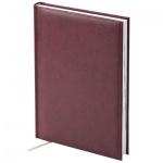 Ежедневник недатированный Brunnen Агенда Мирадор, А5, 160 листов, бордовый