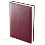 Ежедневник недатированный Brunnen Агенда Софт бордовый, А5, 160 листов