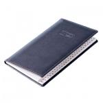 Телефонная книга Brunnen Софт А6, синяя, 48 листов, кожзам