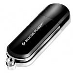 Флеш-накопитель Silicon Power Luxmini 322 8Gb, 15/10 мб/с, черный