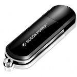 Флеш-накопитель Silicon Power Luxmini 322 16Gb, 15/10 мб/с, черный