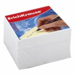 Блок для записей Erich Krause белый, 9х9х5см, непроклеенный
