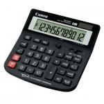 Калькулятор настольный Canon WS-220TC черный, 12 разрядов, бухгалтерский