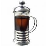 Чайник заварочный френч-пресс Irit 1л, стекло/металл, FR-10-011