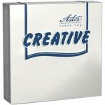 Салфетки сервировочные Aster Creative белые, 25х25см, 3 слоя, 20шт