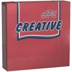 Салфетки сервировочные Aster Creative бордо, 25х25см, 3 слоя, 20шт