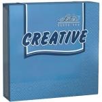 Салфетки сервировочные Aster Creative синие, 25х25см, 3 слоя, 20шт