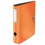 Папка-регистратор А4 Leitz 180° Active Bebop оранжевая, 50 мм, 10480045