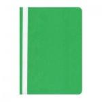 Скоросшиватель пластиковый Бюрократ зеленый, А4, PS20GRN