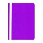 Скоросшиватель пластиковый Бюрократ фиолетовый, А4, PS20VIO