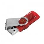 Флеш-накопитель Kingston DataTraveler 101G2 8Gb, 10/5 мб/с, красный
