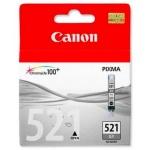 Картридж струйный Canon CLI-521BK, черный, (2933B004)