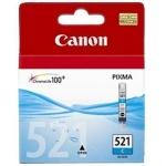 Картридж струйный Canon CLI-521C, голубой, (2934B004)
