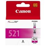 Картридж струйный Canon CLI-521M, пурпурный, (2935B004)
