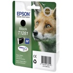 Картридж струйный Epson C13T1281 4011, черный