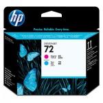 Печатающая головка Hp 72 C9383A, пурпурный+голубая, 2шт/уп