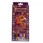 Набор цветных карандашей Русский Карандаш, 24 цвета