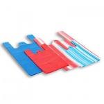 Пакет Майка ПНД 16х12х30см, 10мкм, 100 шт/уп, цветной, полосатый