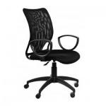 Кресло руководителя Бюрократ CH-599AXSN ткань, черная, TW, крестовина пластик
