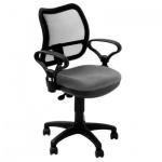 Кресло офисное Бюрократ CH-799AXSN ткань, черная, серая, крестовина пластик