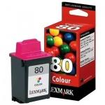 Картридж струйный Lexmark 12A1980Е, цветной