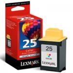 Картридж струйный Lexmark 25 15М0125, трехцветный