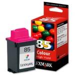 Картридж струйный Lexmark 85 12А1985, 3 цвета