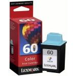 Картридж струйный Lexmark 60 17G0060, 3 цвета