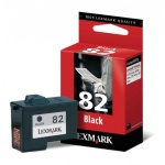 Картридж струйный Lexmark 82 18L0032, черный