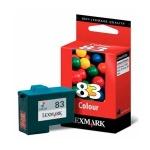 Картридж струйный Lexmark 83 18LX042, 3 цвета