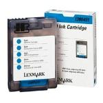 Картридж струйный Lexmark, голубой