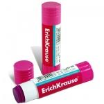 Клей-карандаш Erich Krause Magic 15г, розовый, 4446