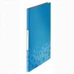 Папка файловая Leitz Bebop, А4, на 20 файлов, синяя