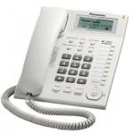 Телефон проводной Panasonic KX-TS2388RU белый