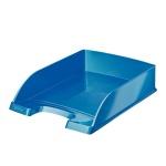 Лоток горизонтальный для бумаг Leitz Wow А4, голубой