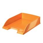 Лоток горизонтальный для бумаг Leitz Wow А4, оранжевый