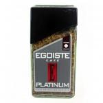 Кофе растворимый Egoiste Platinum 100 г, стекло