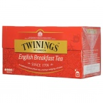 Чай Twinings English Breakfast, черный, 25 пакетиков
