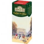 Чай Ahmad English Breakfast (Английский Завтрак), черный, 25 пакетиков
