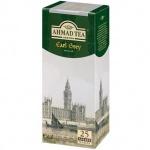 Чай Ahmad, черный, 25 пакетиков, Earl Grey  (Эрл Грей)