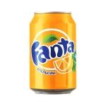 Напиток газированный Fanta 0.33л, ж/б
