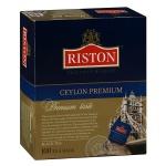 Чай Riston Premium Ceylon, черный, 100 пакетиков