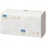 Бумажные полотенца Tork Premium H3, 100278, листовые, 200шт, 2 слоя, белые