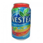 Чай холодный Nestea лесные ягоды, 0,33л х 24шт ж/б