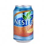 Чай холодный Nestea персик, 0,33л х 24шт ж/б