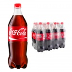 Напиток газированный Coca-Cola 1л x 12шт, ПЭТ