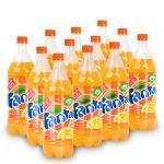 Напиток газированный Fanta 1л x12шт, пластик