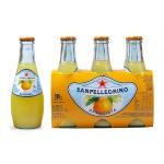Напиток газированный Sanpellegrino Limonata, 0.2л, стекло, апельсин