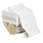 Перфорированная бумага Mega Office Стандарт 210х305мм, белизна 100%CIE, 4000шт, с неотрывной перфора