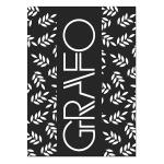 Тетрадь общая Полином Графо, А4, 60 листов, в клетку, на скрепке, картон